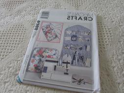 Sewing Pattern  *McCall's 9388*   Sewing Machine Cover, Orga