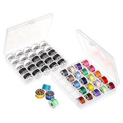 NEX Sewing Thread Kit Bobbins and Sewing Thread with Bobbin
