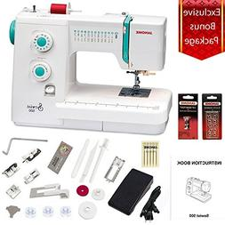 Janome Sewist 500 Sewing Machine w/3- Piece Bonus Kit