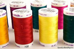 Mettler Silk Finish Cotton All Purpose Thread 50 wt 2 ply 54