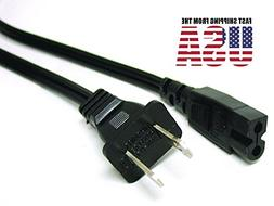 POWER Cord flat Fig8 Cable for Brother SE-270D SM6500PRW SQ-