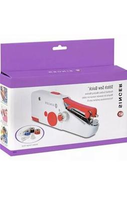 Singer Stitch Sew Quick Small Portable Hand Held Sewing Mach