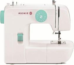 start 1234 electric sewing machine white teal