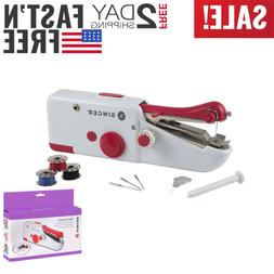 Singer Stitch Sew Quick Portable Compact Hand Held Sewing Ma