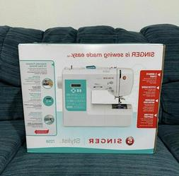 Singer Stylist 7258 Electronic Sewing Machine - SHIPS SAME D