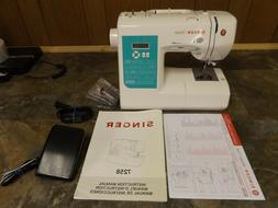 Singer Stylist 7258 Sewing Machine With Manual & Pedal - NIC