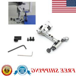 suspended edge guide ruler industrial sewing machine
