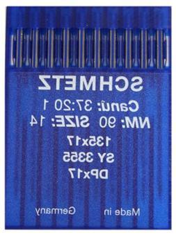 Schmetz 135x17 sz90/14 10/pkg
