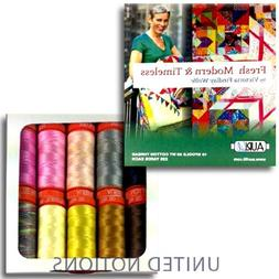 Aurifil Thread FRESH MODERN AND TIMELESS By Victoria Findlay