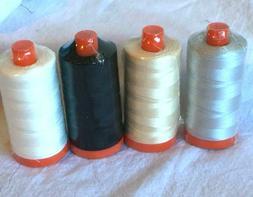 "Aurifil Thread Set ""Necessities"" 4 spools"