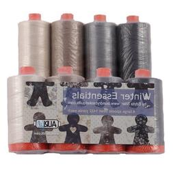 Aurifil Thread WINTER ESSENTIALS Dark and Neutrals By Edyta