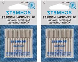 Schmetz Universal 70-90 Assorted Sewing Machine Needles, 10-