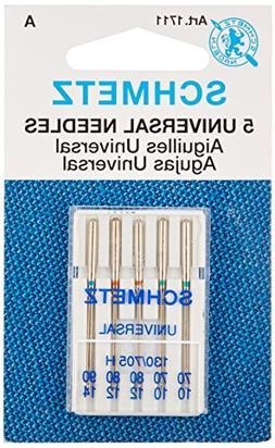 Universal Machine Needles-Sizes 10/70 , 12/80  & 14/90