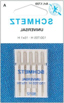 Universal Machine Needles-Size 12/80 5/Pkg