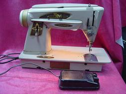 Vintage Singer Slant-O-Matic Sewing Machine Model 503A with