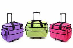 BLUEFIG Wheeled Sewing Machine Case fits Bernina B500 Series