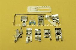 White Sewing Machine Snap On Attachments Fits 1415, 1418, 14
